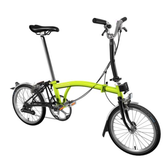 Brompton M2L bicolore Lime Green/Black