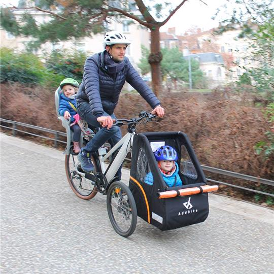 ADDBIKE + CARRY'BOX KID