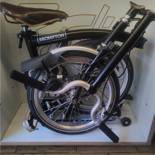 Brompton H3L Black +sella BROOKS