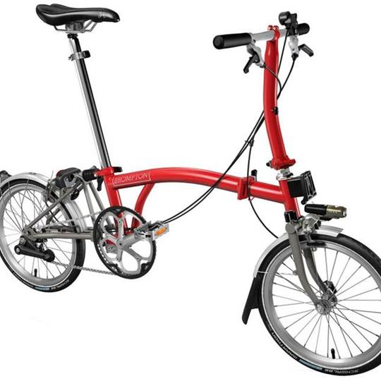 Brompton S2L TITAN RED (Superlight)