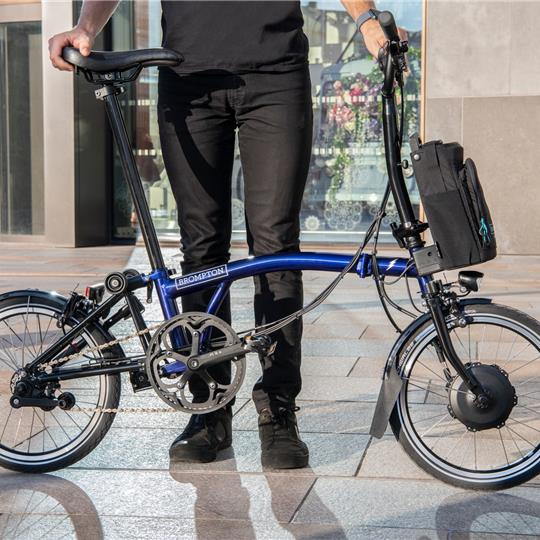 BROMPTON Electric MY20 H6L Bolt Blue Lacquer