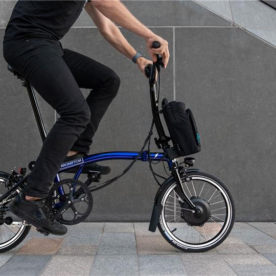 BROMPTON Electric MY20 M6L Bolt Blue Lacquer