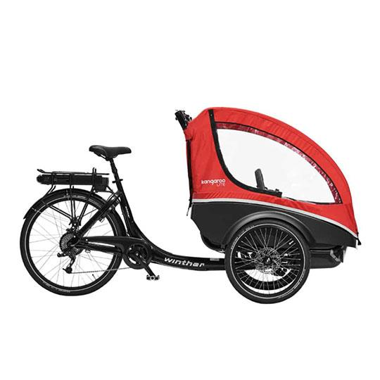 Winther Kangaroo Lite a pedalata assistita