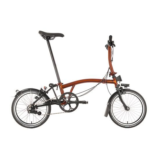 Brompton S6L Black Edition Superlight Flame Lacquer