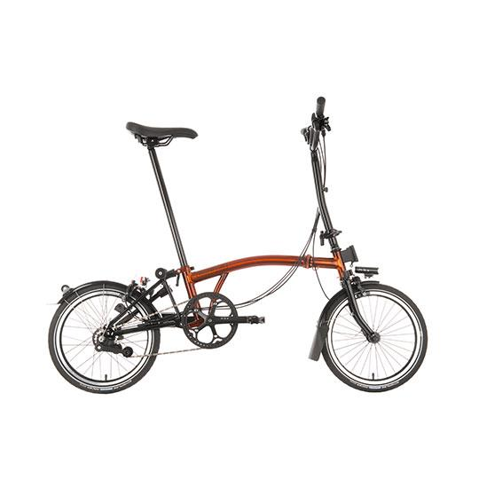 Brompton H6R Black Edition Flame Lacquer