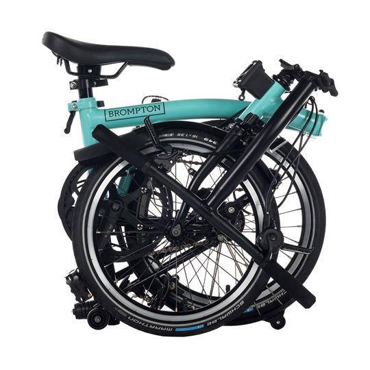 Brompton M6L new black edition turkish green/black
